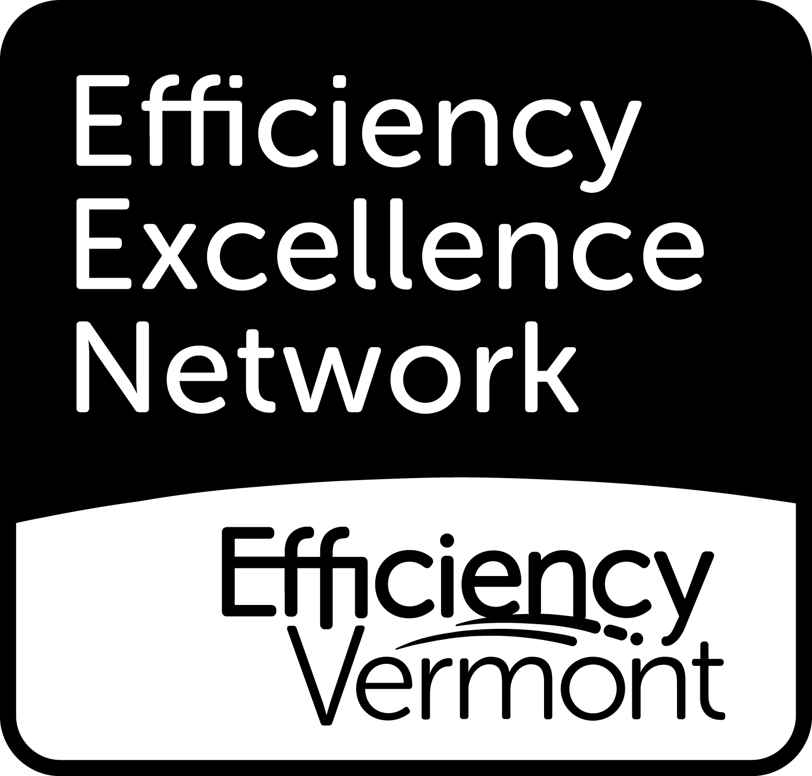 Efficiency Vermont & Efficiency Excellence Network Logo
